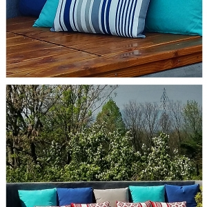 coussin spa jacuzzi terrasse